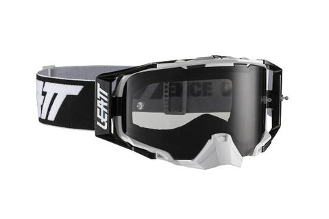 Leatt Goggle Velocity 6.5 Black/White Smoke 28% (8019100035)