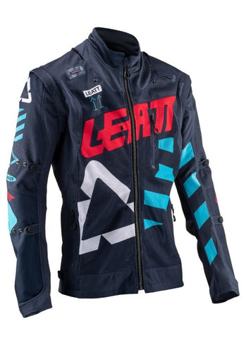 Leatt Gpx 4.5 X-Flow Jacket Ink / Blue