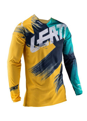 Leatt Gpx 4.5 Lite Jersey Gold/Teal