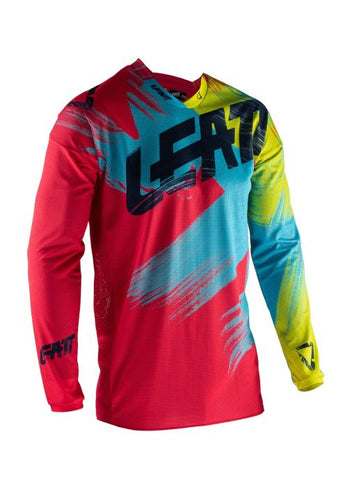 Leatt Gpx 4.5 Lite Jersey Red/Lime
