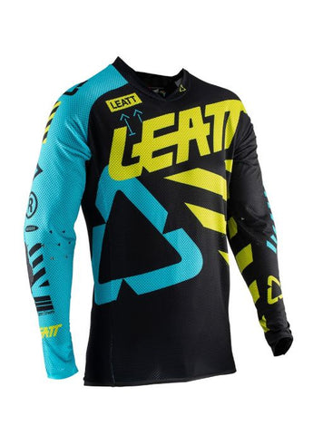 Leatt GPX 5.5 Ultraweld Jersey Black/Lime