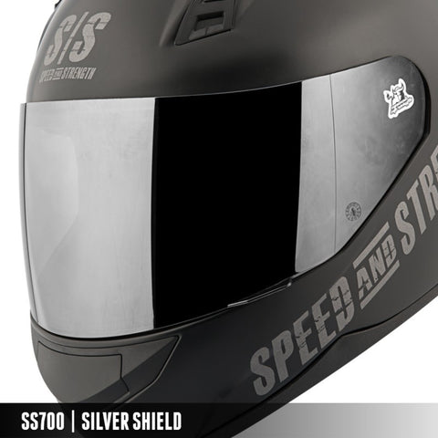 Speed & Strength SS7/10/11/12/15 Smoke Faceshield (874067)