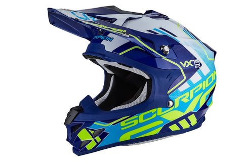 Scorpion VX-15 Evo Air Argo Blue/White (35-246-203)