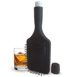 Smuggle your booze into the races, concerts, music festivals with this hairbrush flask.