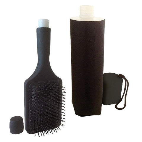 Smuggle your alcohol into the races, sporting events and music festivals with our great value umbrella and hairbrush flask combination.