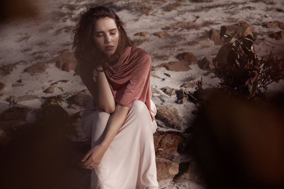 Our Parka, Pink Maxi and Boxy Tee feature in this amazing shoot// Au Revoir Aviva