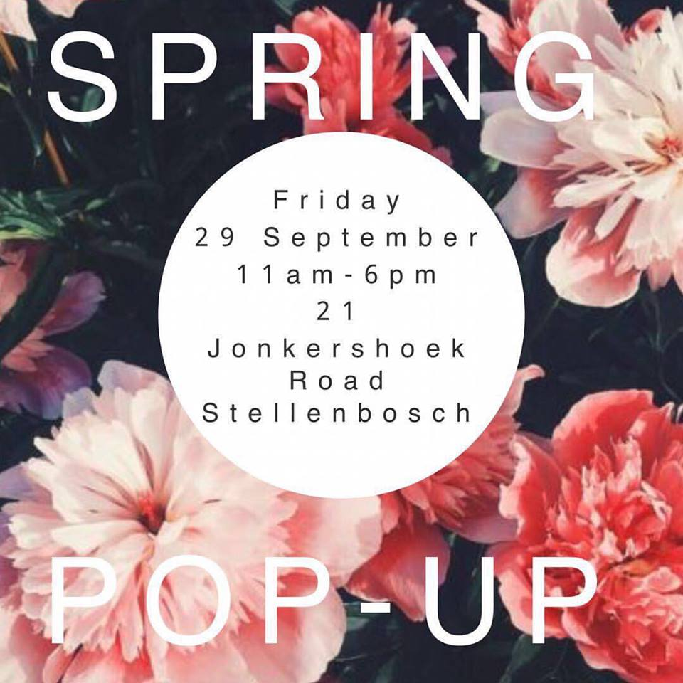 Stellenbosch, Spring, Pop Up, MARETHCOLLEEN, Jonkershoek, Stellenbosch, Flowers, Spring, Season, Cape Town, South Adrica, South African Designers, Local Design, Dresses, Fashion, Convoy, Shop Online, Shop, Local Designer, Local, Pink, Red, Bright Colours