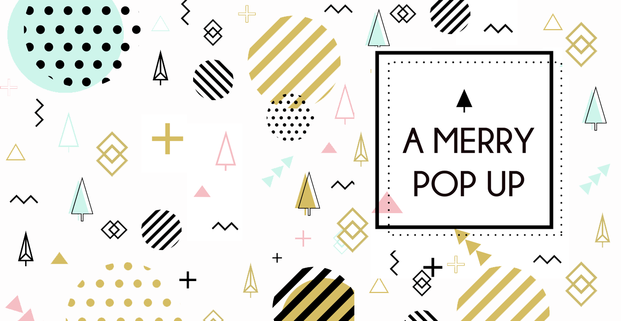 A MERRY Pop-Up 01 December 2017