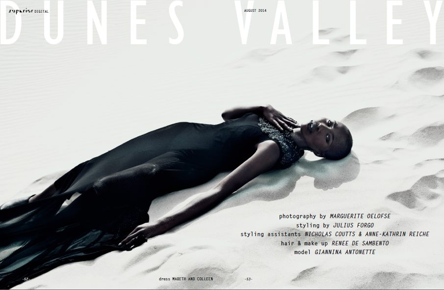 Media: MarethColleen garments feature in the Dunes Valley Editorial