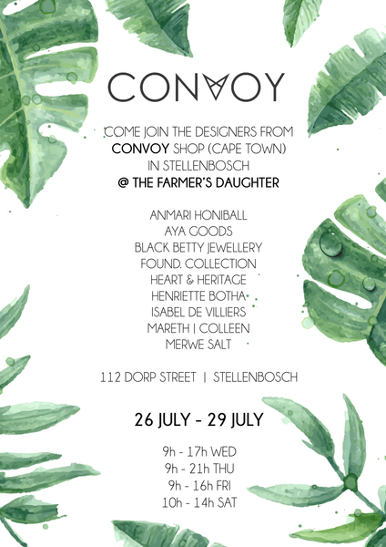 CONVOY is coming to Stellenbosch next week!