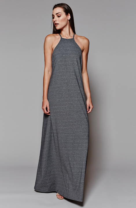 MARETHCOLLEEN, Lucy Dress, Maxi Dress, Grey Dress, Summer, Summer Dress