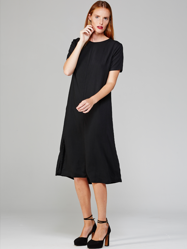 harper dress, MARETHCOLLEEN, Black, Summer, Summer dresses