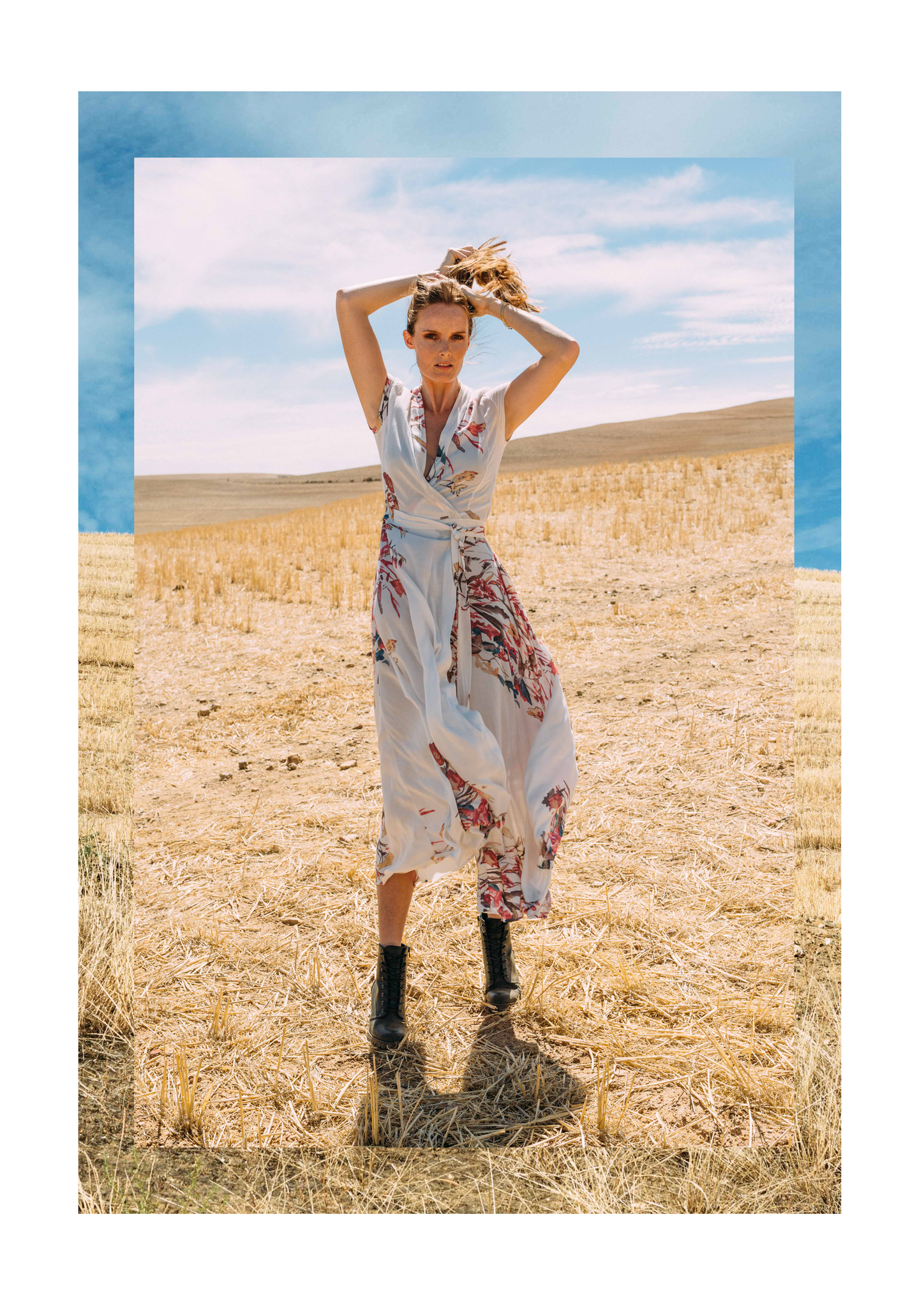 Philly Dress, MARETHCOLLEEN, Floral, Maxi Dress, Wrap Dress, Summer, South Africa, South African Design, Local, Cape Town, South African Designer, Landscape, Burgundy, Winter, Style, Cape Town Designer, Woodstock Designer