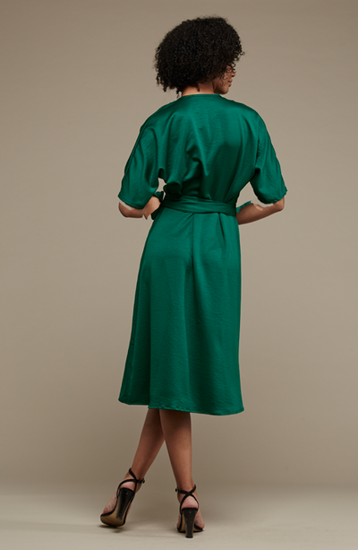 Bea Wrap Dress - MARETHCOLLEEN