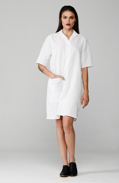 Liam Shirt Dress - MARETHCOLLEEN