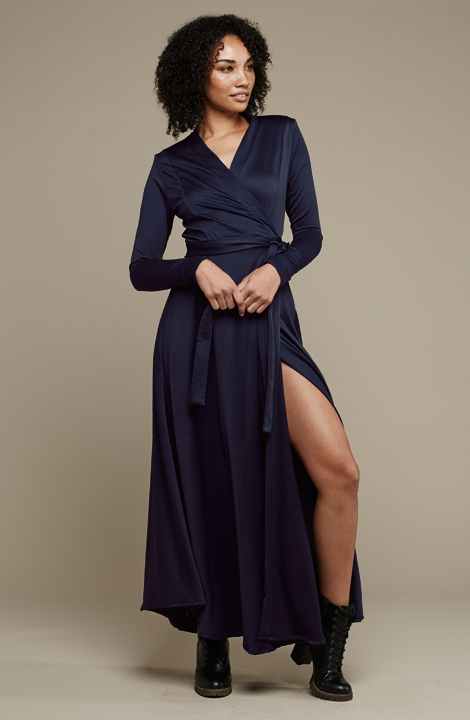 Jo Wrap Dress - MARETHCOLLEEN