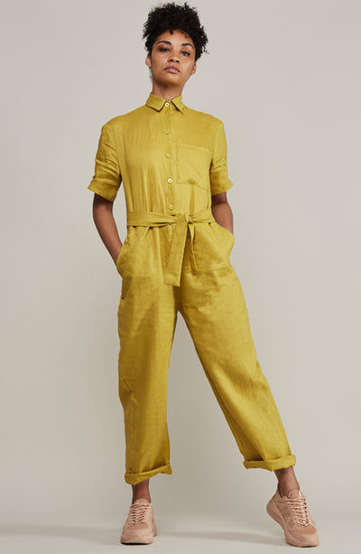 Boilersuit 100% Linen - MARETHCOLLEEN