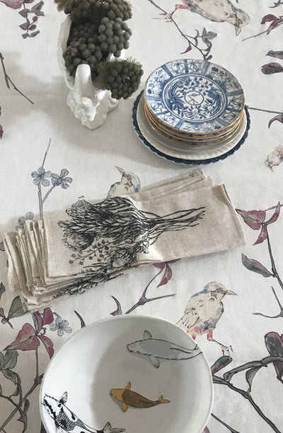 Hand Painted Table Cloth - MARETHCOLLEEN