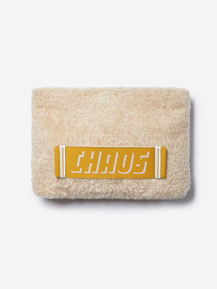 Shearling Clutch Bag