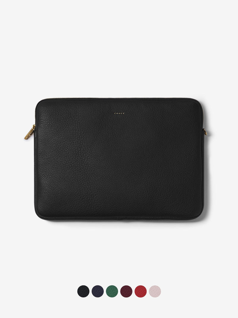 Classic Leather Laptop Cover