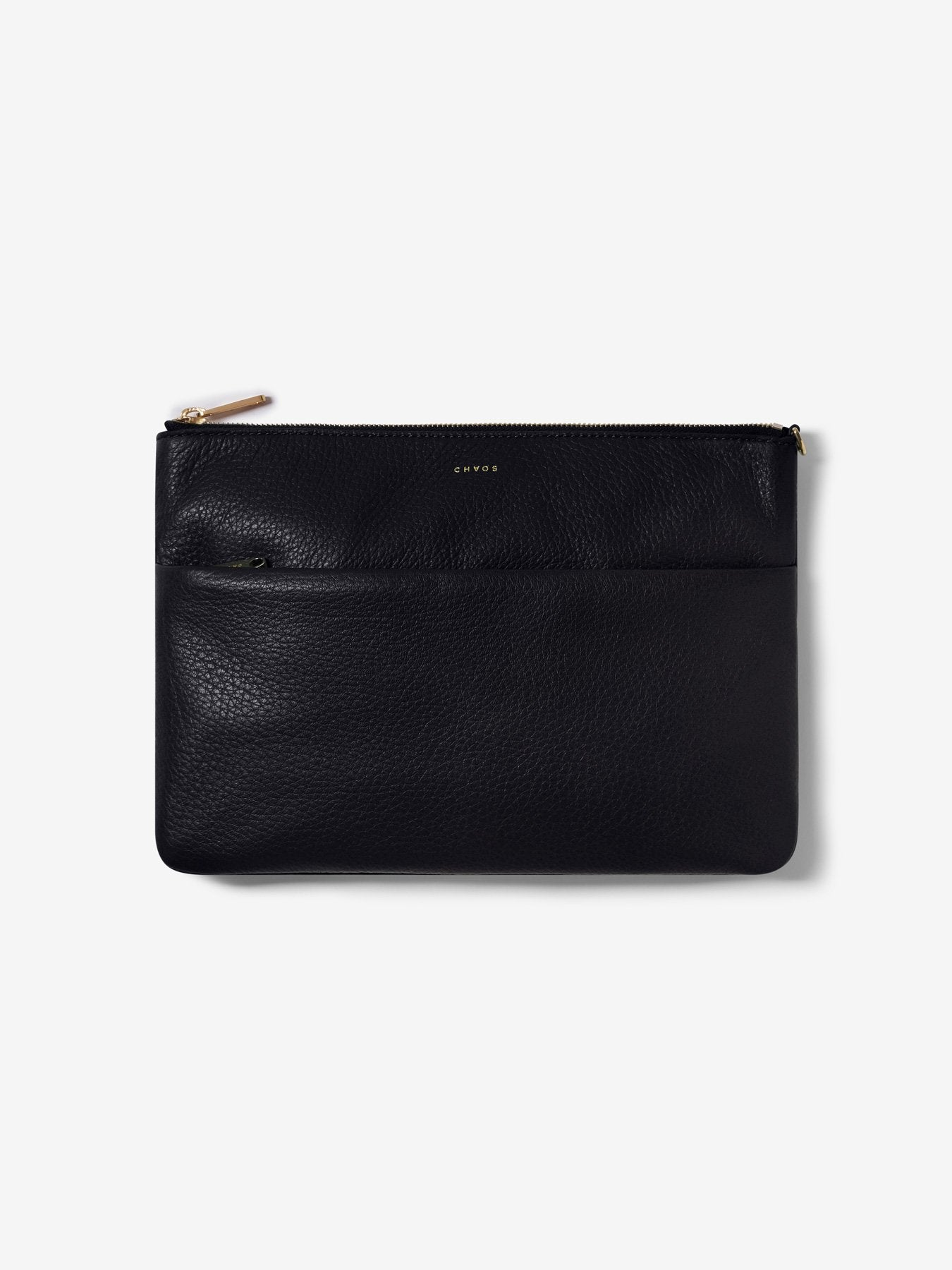 Classic Leather Clutch Bag