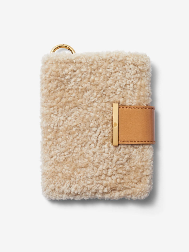 Shearling Passport Cover