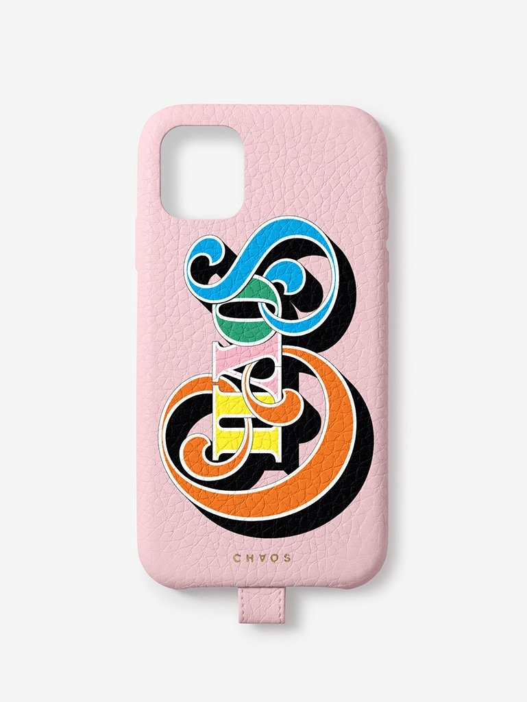 Chaos Classic Leather iPhone Case