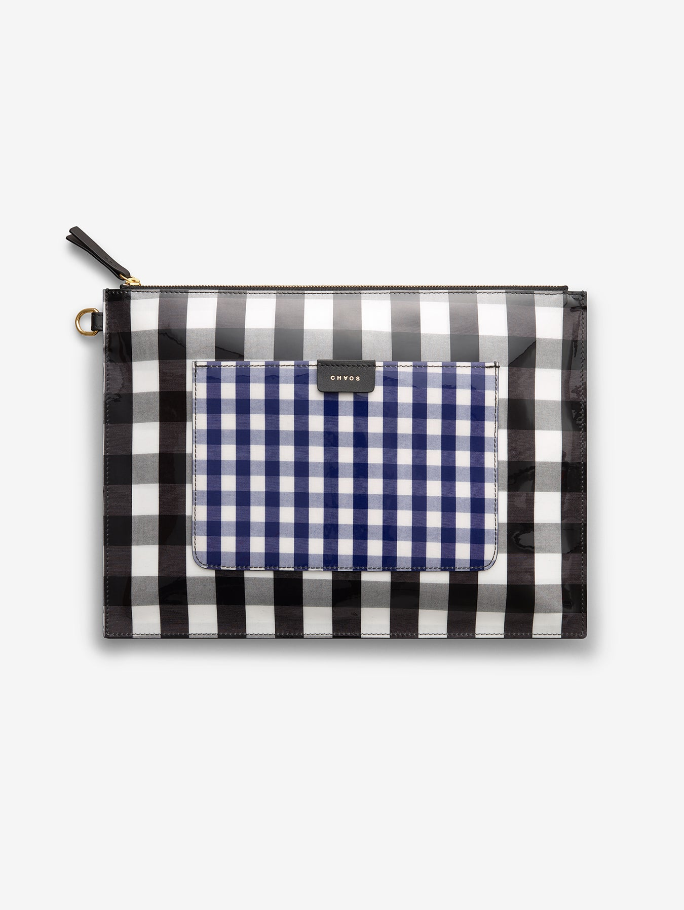 case-Black and Blue Gingham
