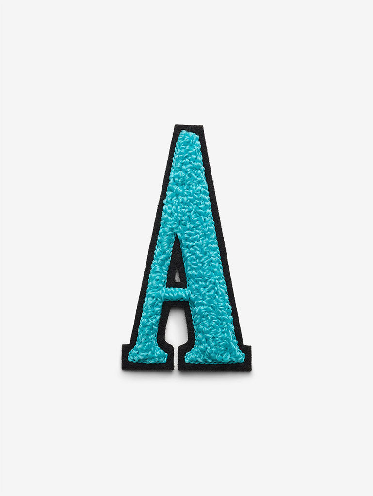 Chenille Embroidered Alphabet Sticker