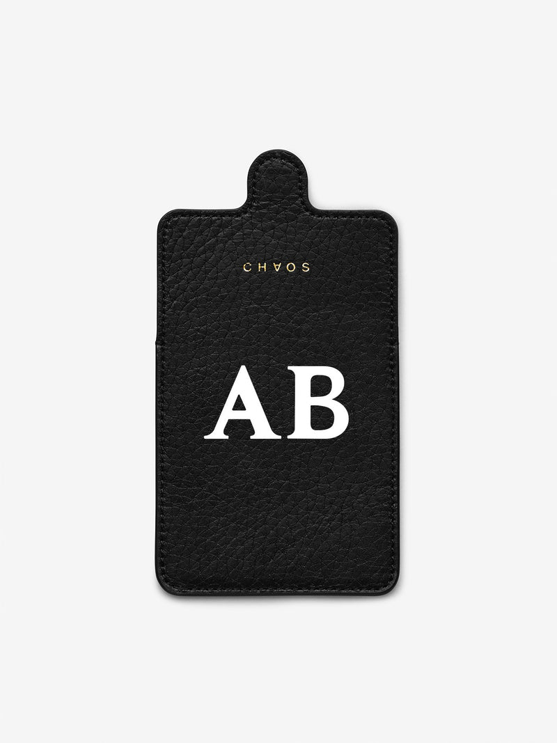 Classic Font Cardholder Sticker