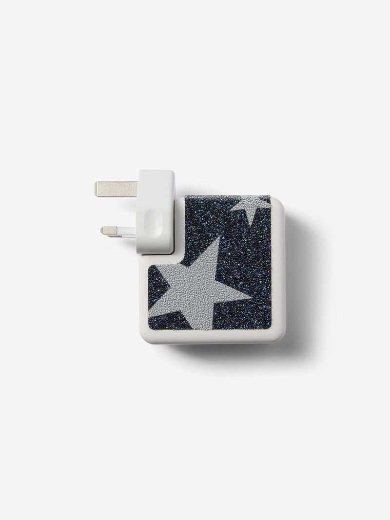 Atelier Swarovski x Chaos Crystal Star 61W MacBook Charger Sticker