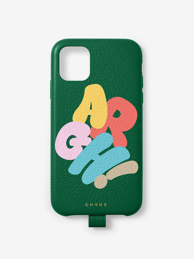 Argh Chaos x Uniqlo iPhone Case