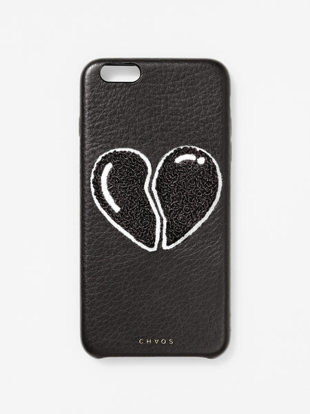 The Chaos Broken Heart Case Black