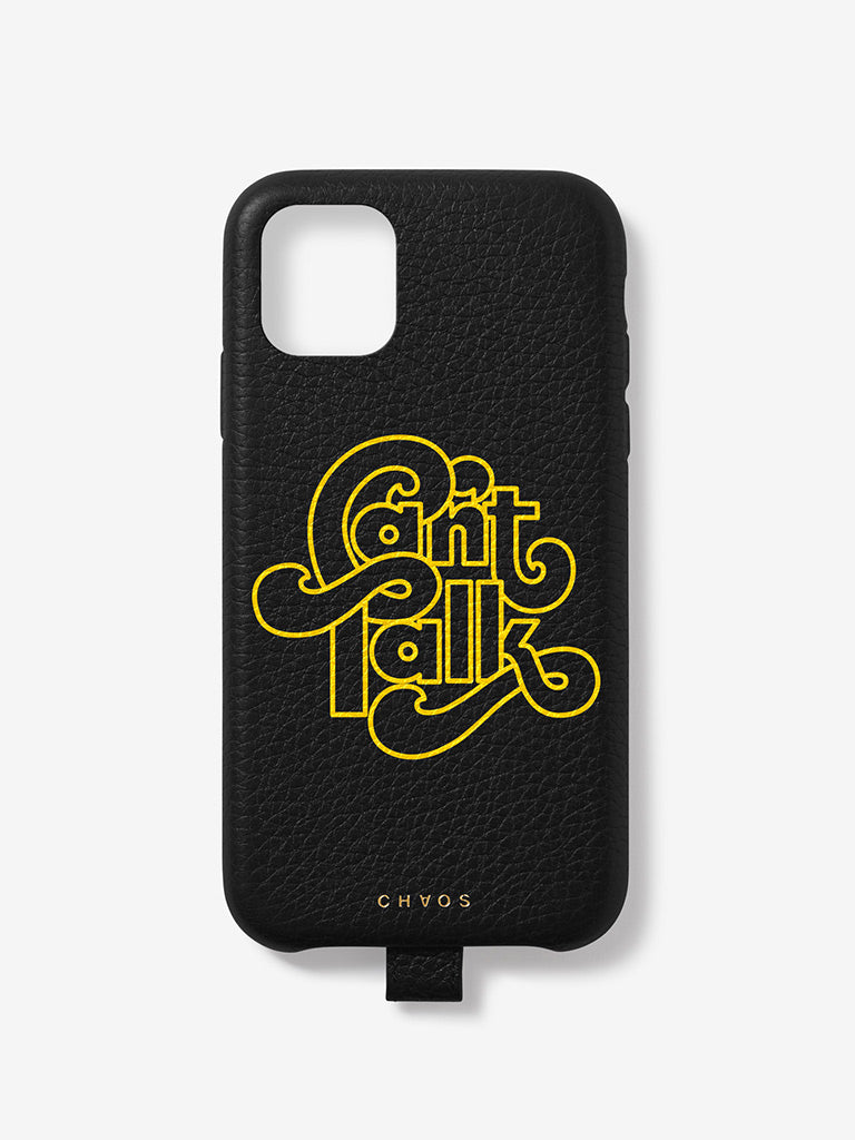 Can't Talk Chaos x Uniqlo iPhone Case