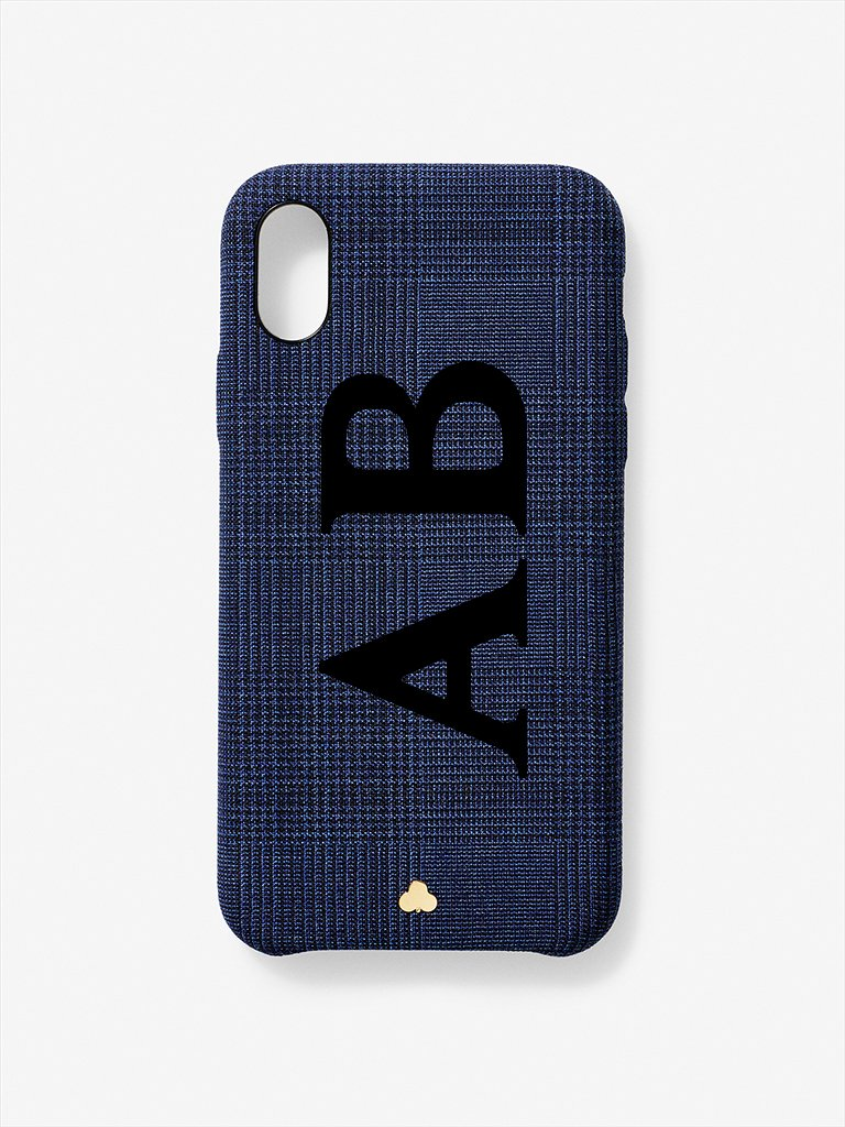 Custom Wool Prince of Wales iPhone Case