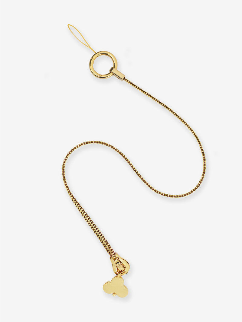 Zip Lanyard Gold