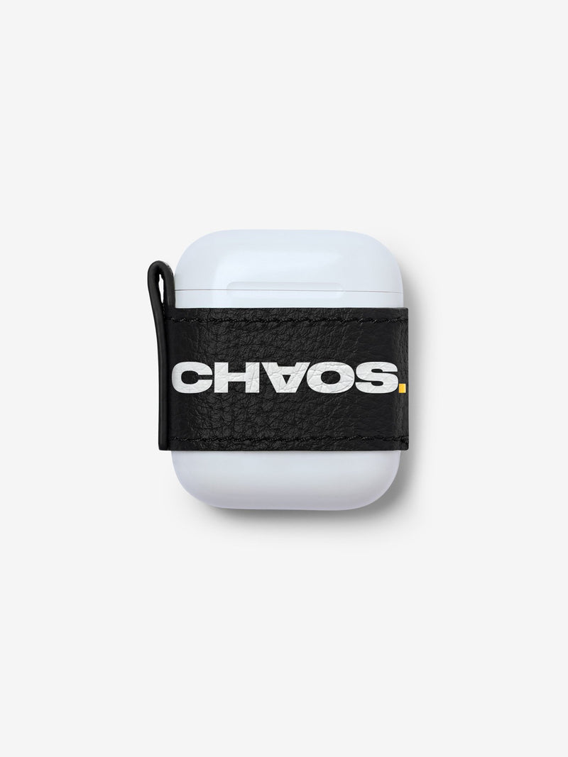 Block CHAOS. Black AirPods Sticker