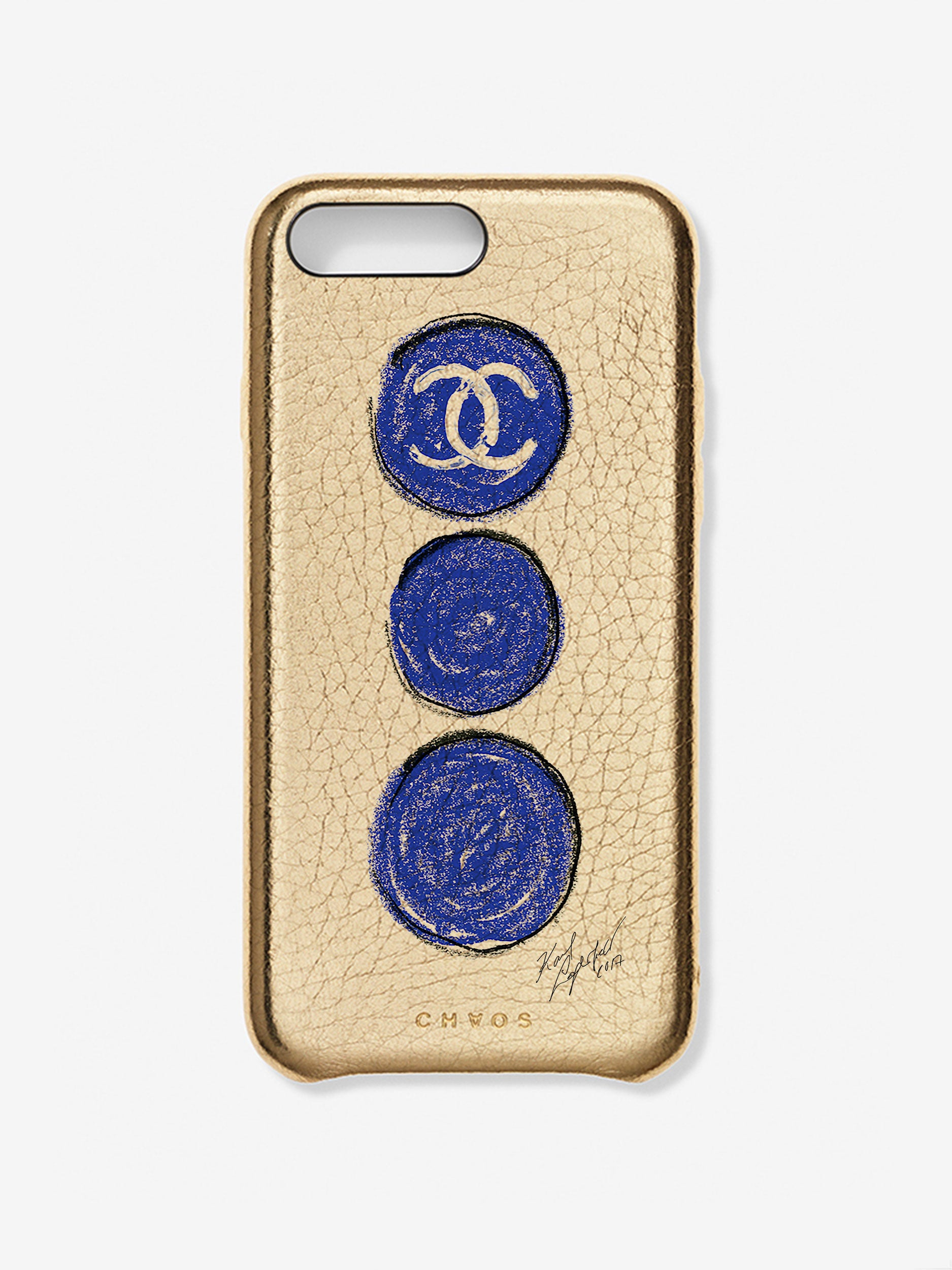 Chaos X Chanel X Colette Collaboration Case Gold
