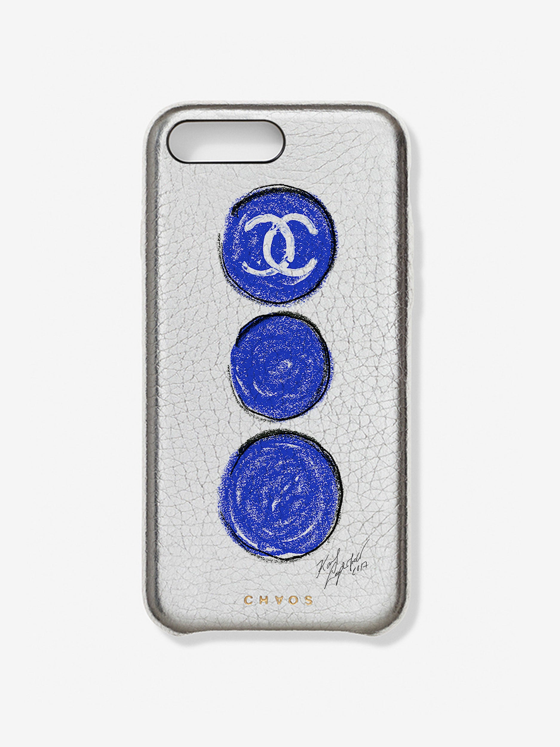 Chaos X Chanel X Colette Collaboration Case Silver