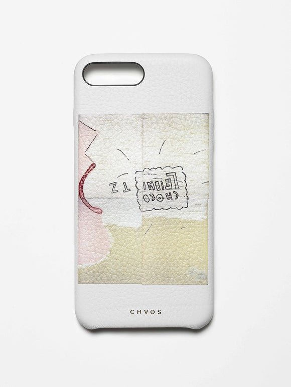 Chaos X Rose Wylie with The Serpentine Galleries Choco Leibnitz Classic Leather iPhone Case