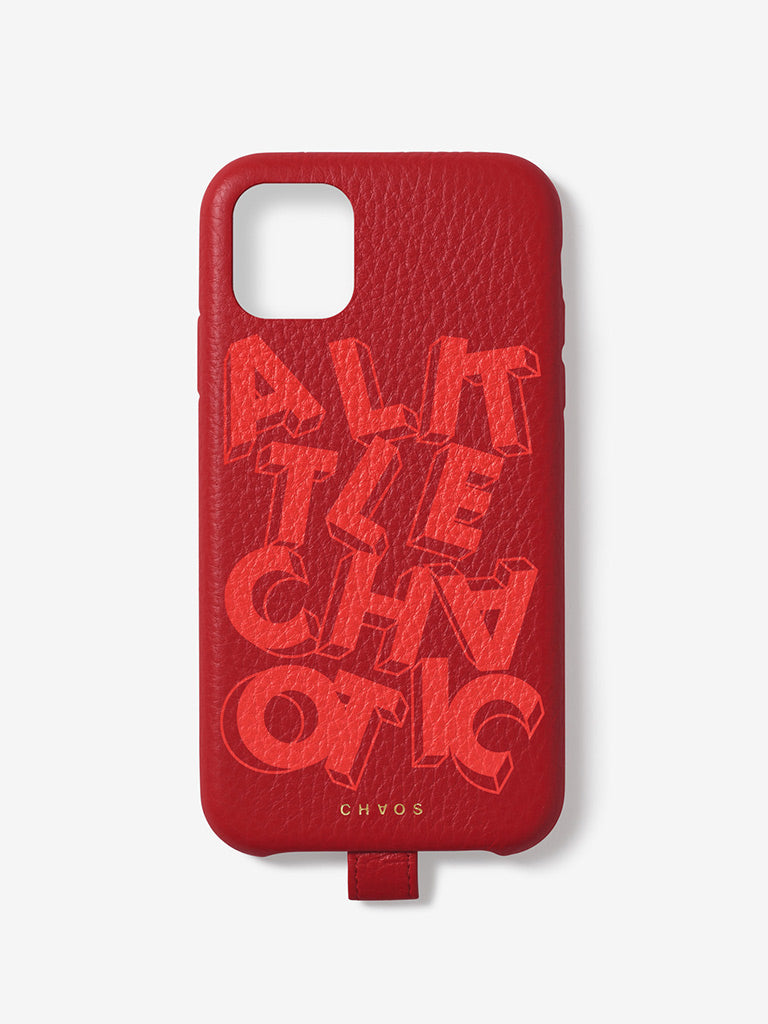 Chaotic Chaos x Uniqlo iPhone Case