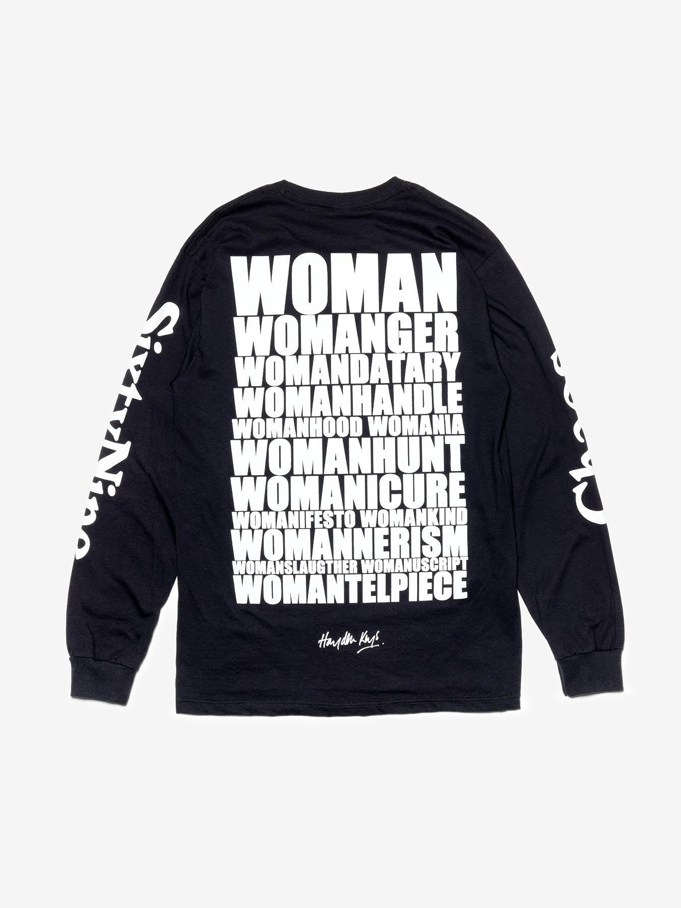 Chaos SixtyNine 'Womanipulate' Long Sleeved T-shirt