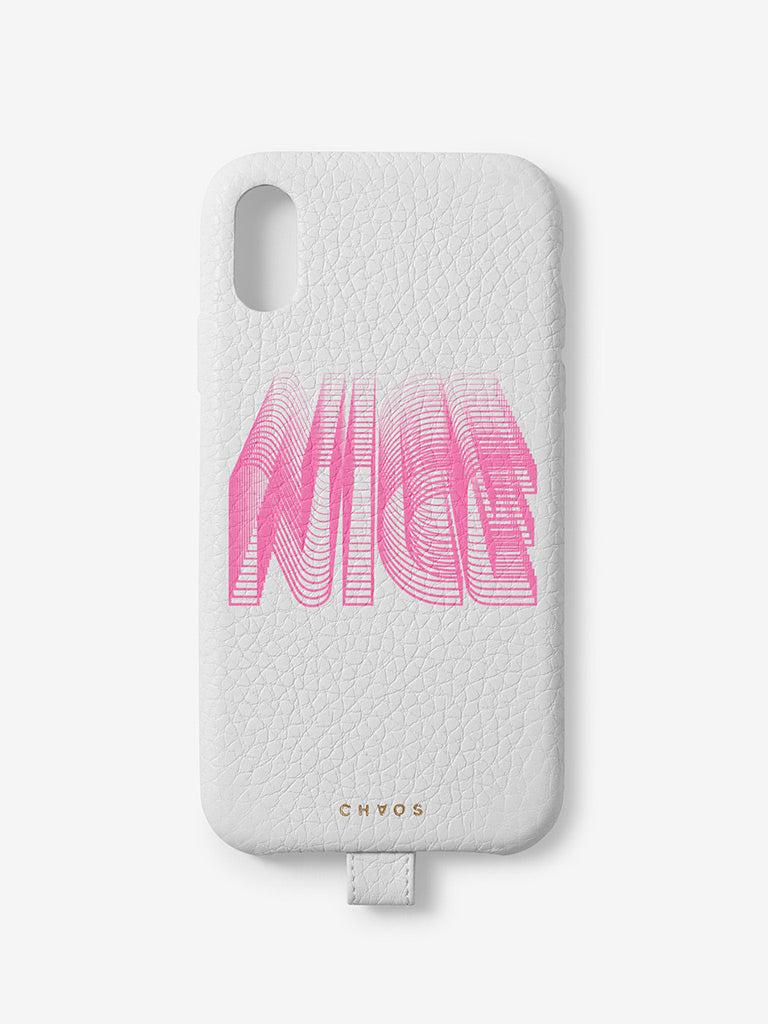Nice Chaos x Uniqlo iPhone Case