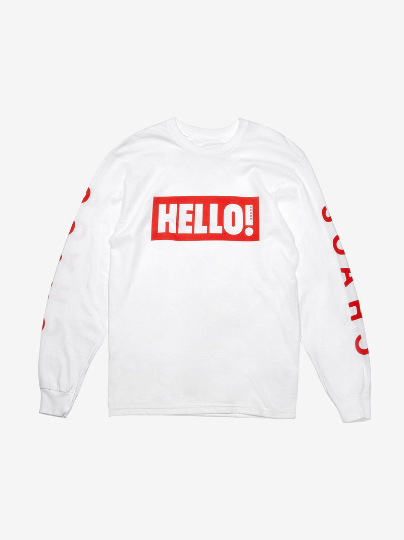 Chaos x Hello! Magazine Long Sleeved T-Shirt