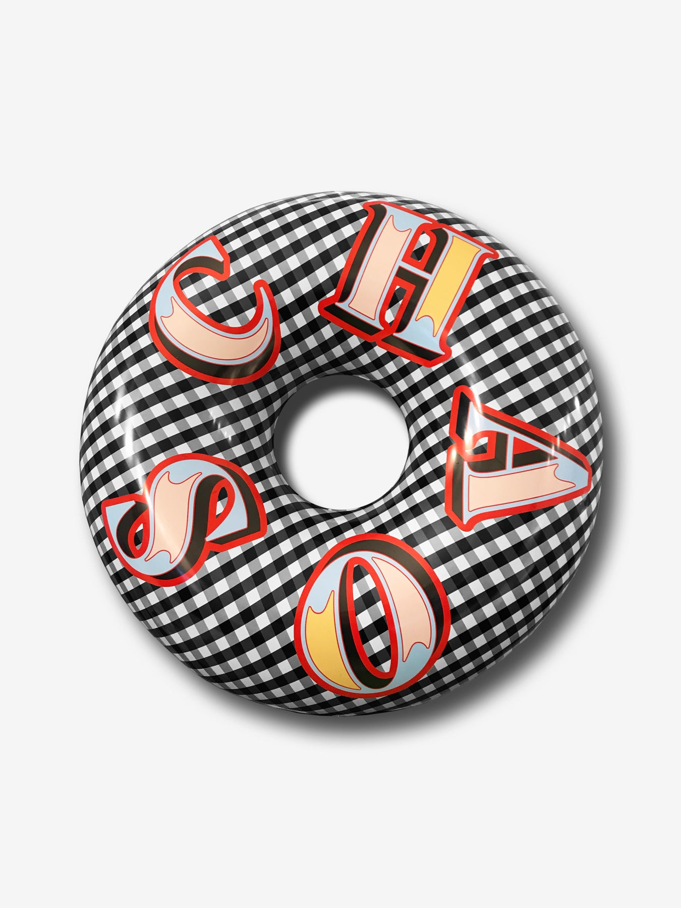 Inflatable Gingham Ring