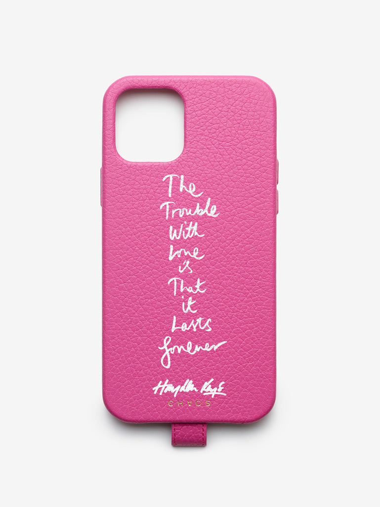 Hayden Kays 'The Trouble With Love' Leather iPhone Case
