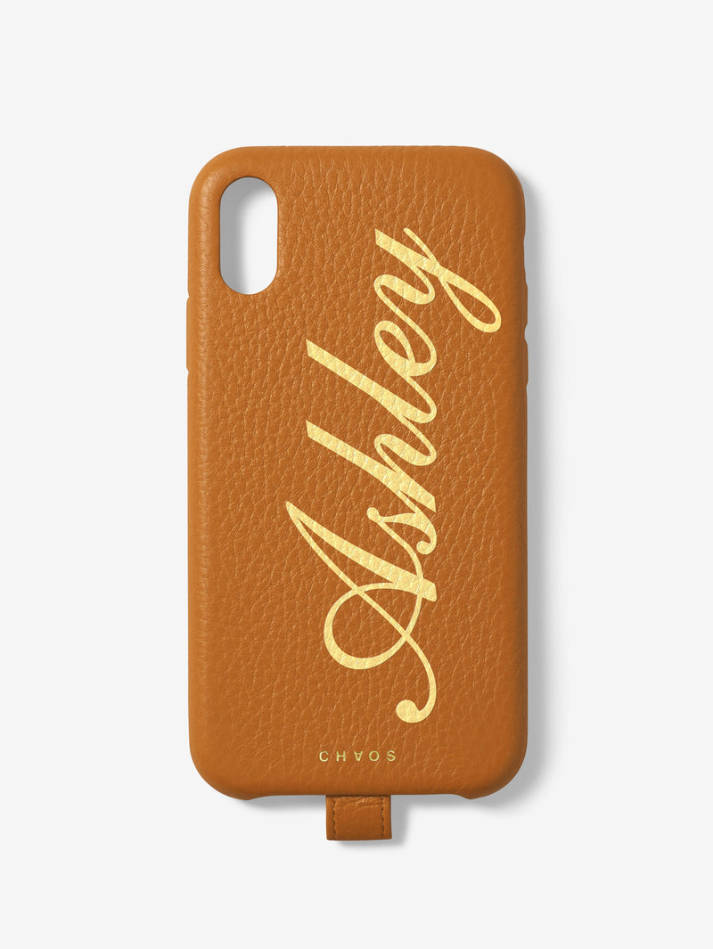 DREST - Custom Classic Leather iPhone Case