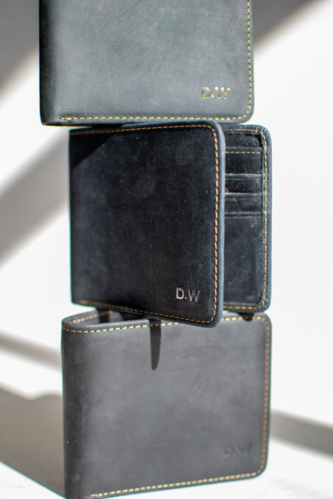 Monogrammed wallets gifts