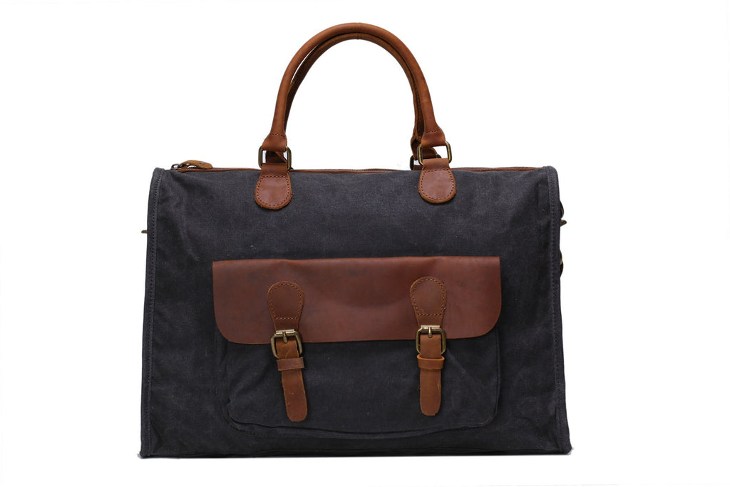 Dark Grey Briefcase messenger bag