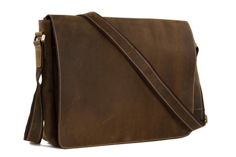 Leather Cross body/Shoulder Messenger Bag